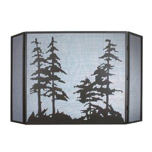 Yair 3 Panel Fireplace Screen By Loon Peak