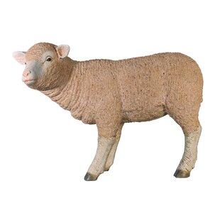 Design Toscano Merino Ewe Life-Size Standing Lamb Statue