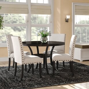 Nathanael 5 Piece Dining Set by DarHome Co Best Choices