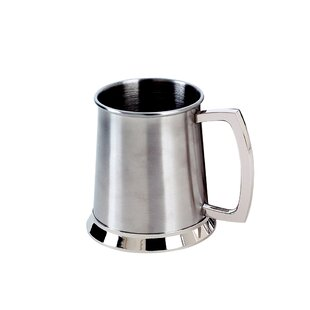 20 Oz. Bright Stainless Steel Tankard
