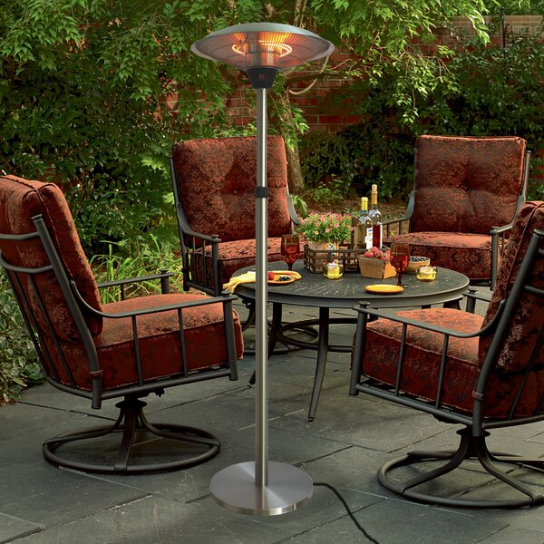 EnerG 1500 Watt Electric Patio Heater Reviews Wayfair