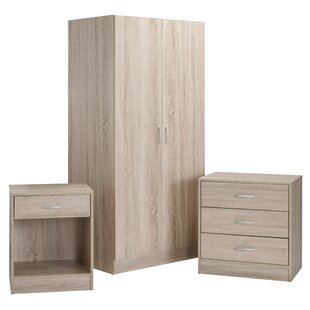 Review Haddam 3 Piece Bedroom Set