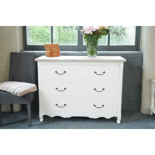 Roseanne Wide 3 Drawer Chest By Brambly Cottage
