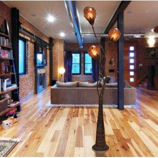 Online Reviews Markey Abaca Triple Branch 70 Tree Floor Lamp By Bloomsbury Market