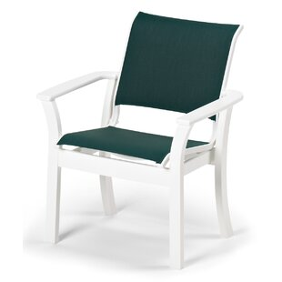 Leeward Stacking Patio Dining Chair (Set Of 2) by Telescope Casual Find