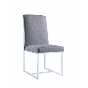 Deimel Floating Upholstered Dining Chair ..