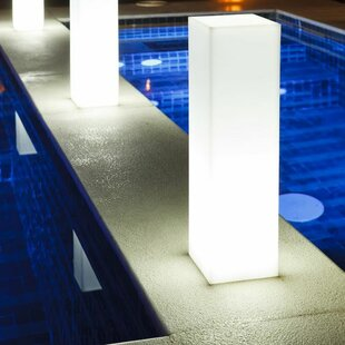 Comparison Slim Block Poolside or Floating Light By Smart & Green