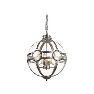 Charlton Home Samara 4-Light Globe Chandelier
