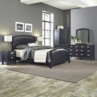 Home Styles Prescott Queen Panel 5 Piece Bedroom Set