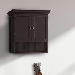 Elderen 2225 W x 24 H x 8 D Wall Mounted Bathroom Cabinet by Red Barrel Studio