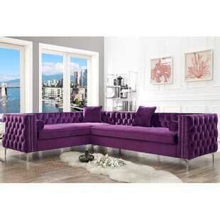 Everly Quinn Kaufman Reversible Sectional