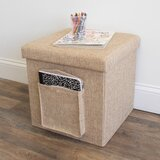 Greendale Folding Storage Ottoman by Winston Porter