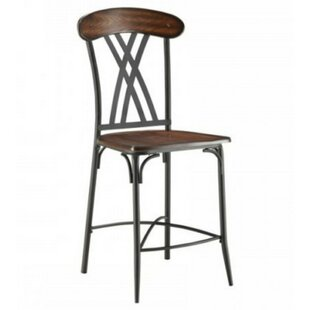 Gracie Oaks Cavett Counter Height Dining Chair (Set of 4)