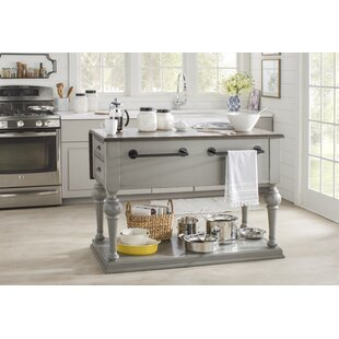 French Country Kitchen With Island french country kitchen islands & carts you'll love | wayfair