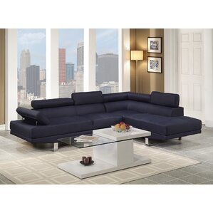 Clandown Vegas Reclining Sectional by Wade Logan