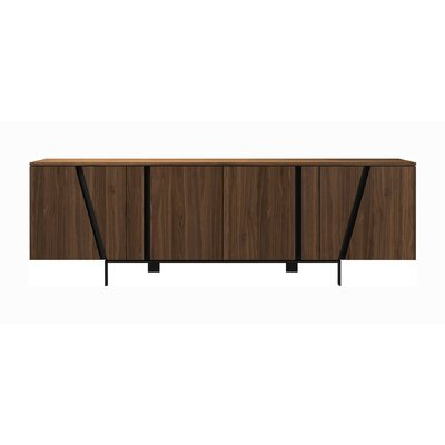 Comm Office Miliano Sideboard Color: Walnut