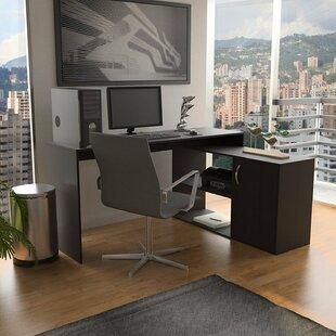 Orren Ellis Barney L-Shape Corner Desk