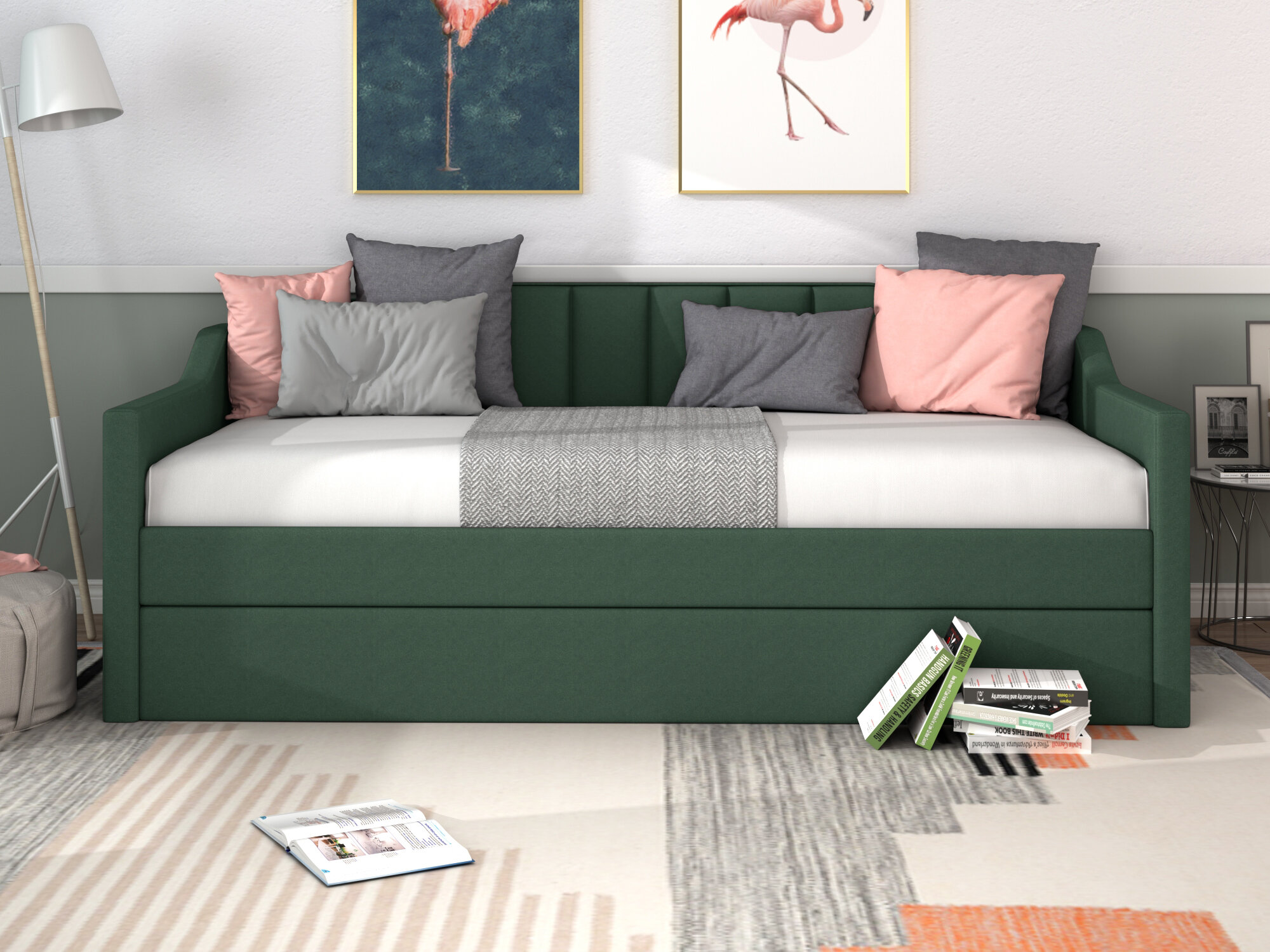 Full Size Trundle Daybeds You Ll Love In 2020