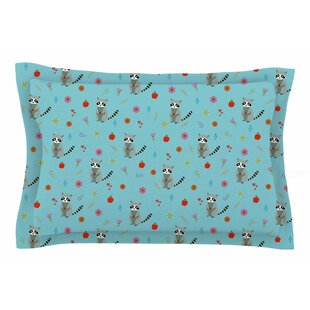 Cristina Bianco Design 'Cute Raccoon' Illustration Sham