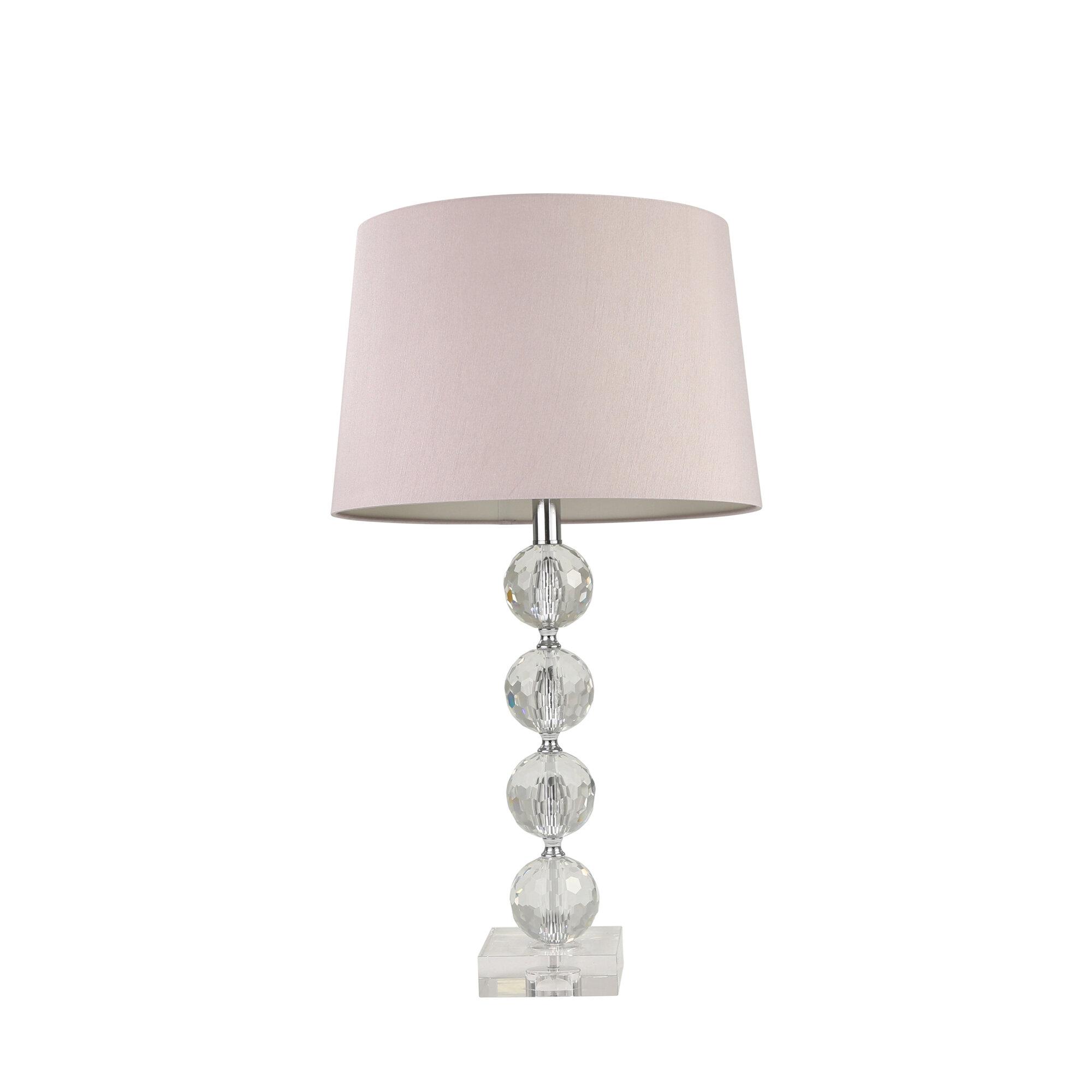 Image of: Mercer41 Niamh Glass Ball 28 Table Lamp Wayfair