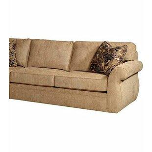 veronica right facing armless sofa by broyhill - Broyhill Sofa