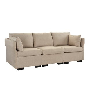 Belmonte Classic Sofa by Charlton Home Today Sale Only