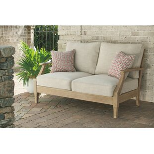 Anguiano Loveseat with Cushions by Canora Grey