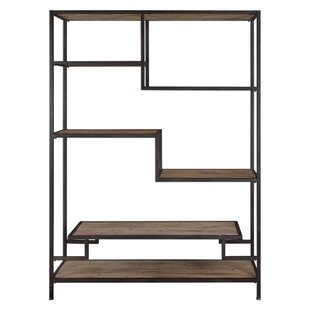 Indigo Bookcase by Gracie Oaks Today Sale Only