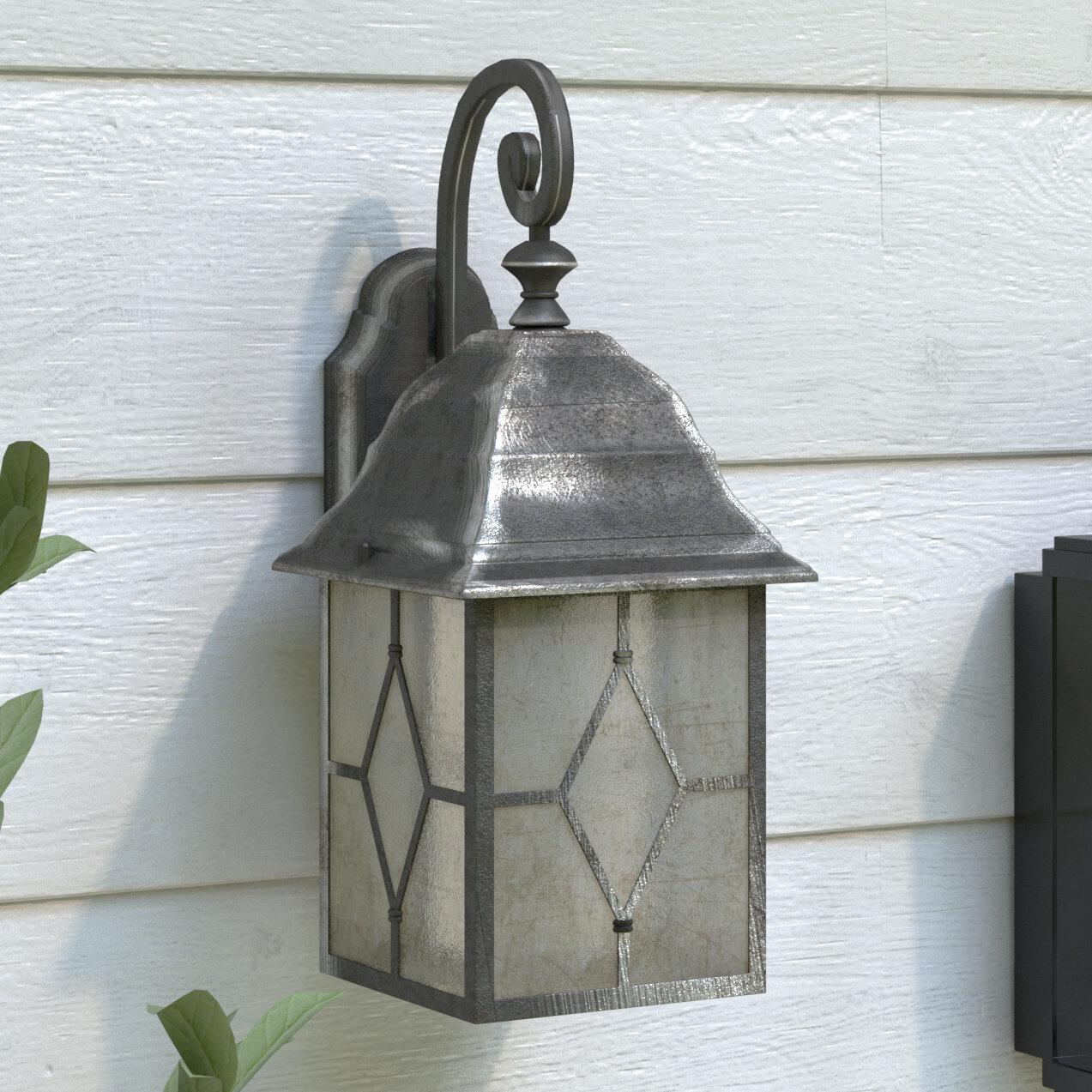 Dakota Fields Carwile 1 Light Outdoor Wall Lantern Reviews Wayfair Co Uk