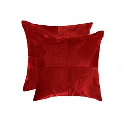Large Leather Suede Throw Pillows You Ll Love In 2021 Wayfair