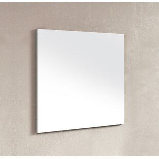 Swint Modern and Contemporary Frameless BathroomVanity Mirror