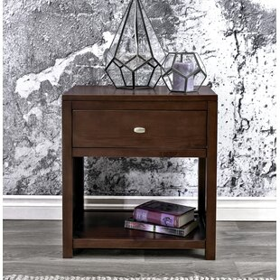 Latitude Run Erskine 1 Drawer Nightstand