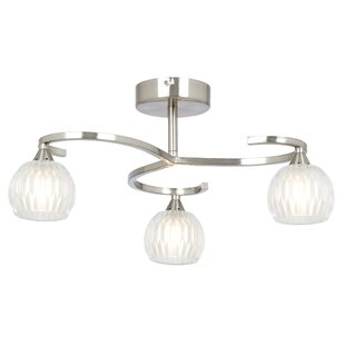3 arm ceiling light wayfair co uk