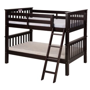 Lindy Mission Twin Over Twin Bunk Bed by Harriet Bee Cheap