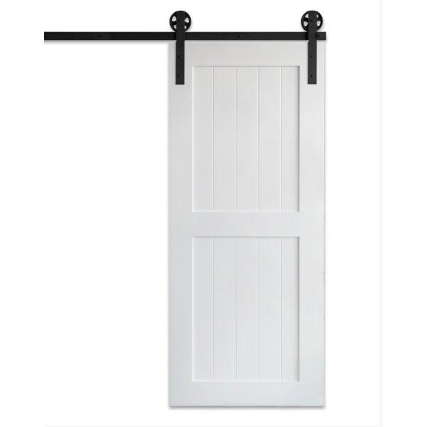 Artisan Hardware Paneled Manufactured Wood Classic Barn Door Without Installation Hardware Kit Wayfair