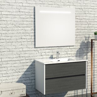 Adams 900mm Wall Mounted Vanity Unit By Belfry Bathroom