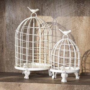 Orla 2 Piece Birdcage Set