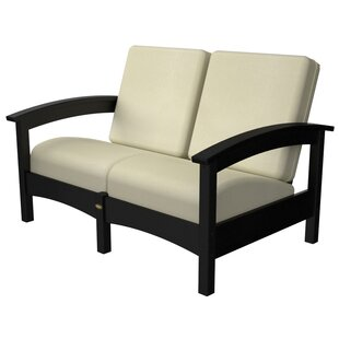 Rockport Club Deep Seating Sofa with Cushions by Trex Outdoor