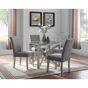 Lamoureux 5 Piece Dining Set House of Hampton