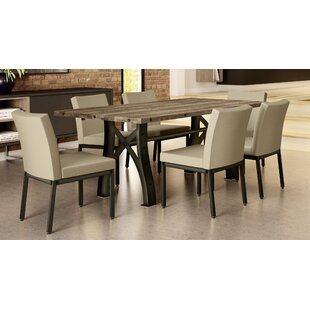 Everly 7 Piece Dining Set by 17 Stories Reviews