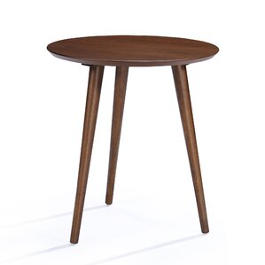 pawlet wood end table