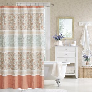 chambery cotton shower curtain