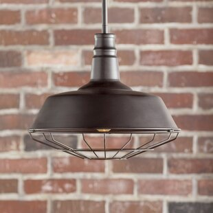 Juneau 1-Light Dome Pendant by Trent Austin Design