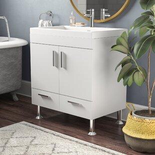 Compare & Buy Waldwick 29 Single Bathroom Vanity Set ByWade Logan