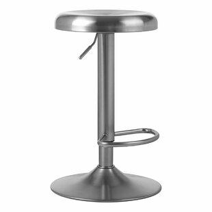 Diggs Height Adjustable Swivel Bar Stool By Metro Lane