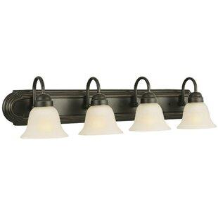 Inexpensive Allante 4-Light Vanity Light By Design House