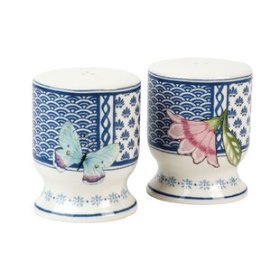 Courtyard Salt and Pepper Shakers