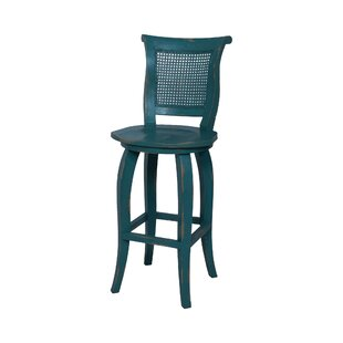 Ernest Hand-Painted Bar Stool by August G..