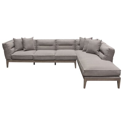 Diamond Sofa Eden Right Hand Facing Sectional