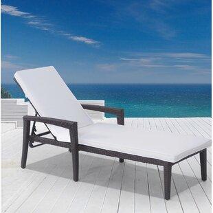 Velago Bellinzona Chaise Lounge with Cushion